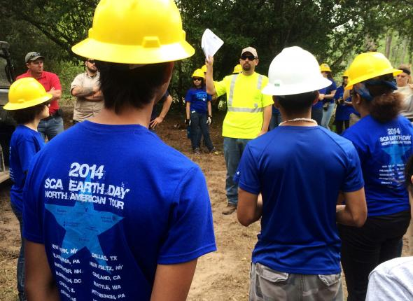SCA Earth Day 2014 Event -- Houston, TX