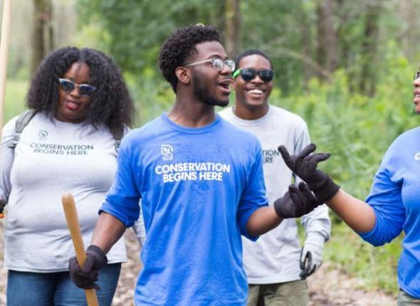 SCA Crewmembers in Chicago help clean up Hegewisch Marsh