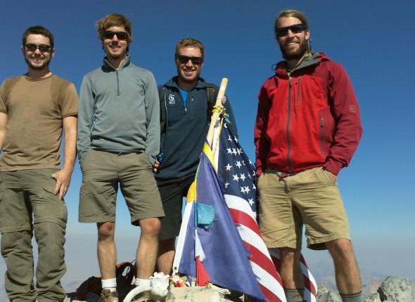 On top of Mt. Borah