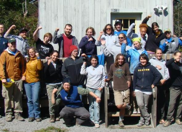 Huyck Preserve Service Project