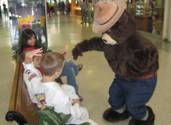 Our good friend, Smokey Bear