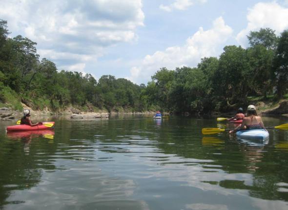 Kayaking the Mighty Ouachita