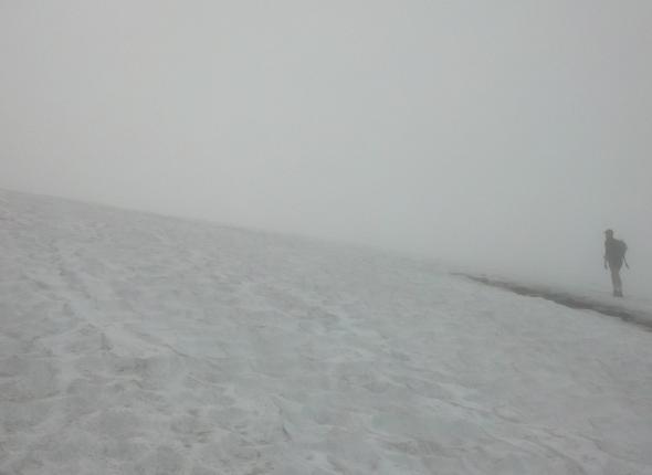 Fog on Ptarmigan