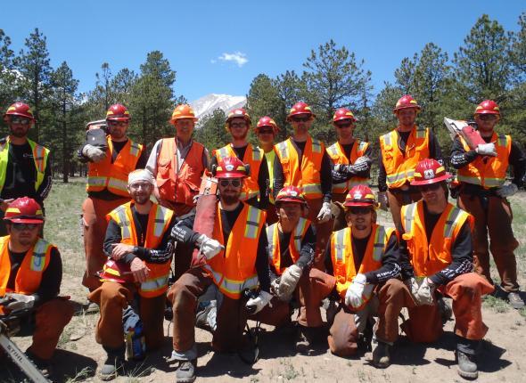 VFC 1 & 2 Colorado Fire Camp Saw 212 Training 2013