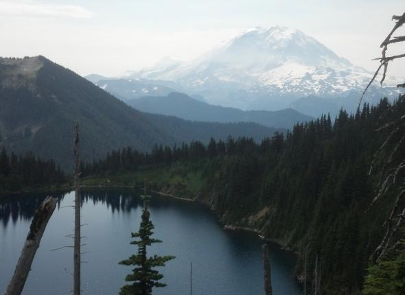 Summit Lake and Ranier