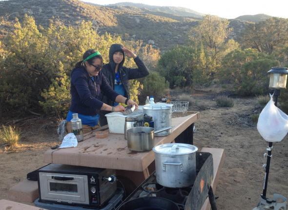 Cookin' dinner!