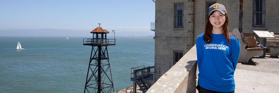 An SCA CRDIP Intern at Alcatraz