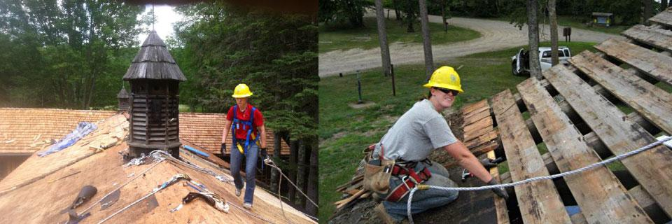 SCA's Veterans Historicorps engages teams of military veterans in restoring historic places throughout the country