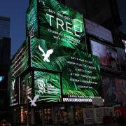 American Eagle-SCA Buy One Get One Tree Billboard in Times Square