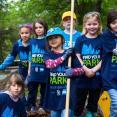 Young SCA volunteers restore Greenbelt Park