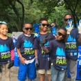 Group of young environmentalists from the FBR Branch of Boys & Girls Clubs of Greater Washington