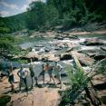 Atlanta Survey Team at Sweetwater Creek