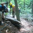 new trail benching