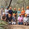 There we are, an awesome crew that did a great job on the Suwannee. Thanks everybody!