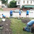 Community Center planting